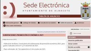 sede electronica ayuntamiento albacete